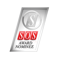 SOS Award Nominee Badge