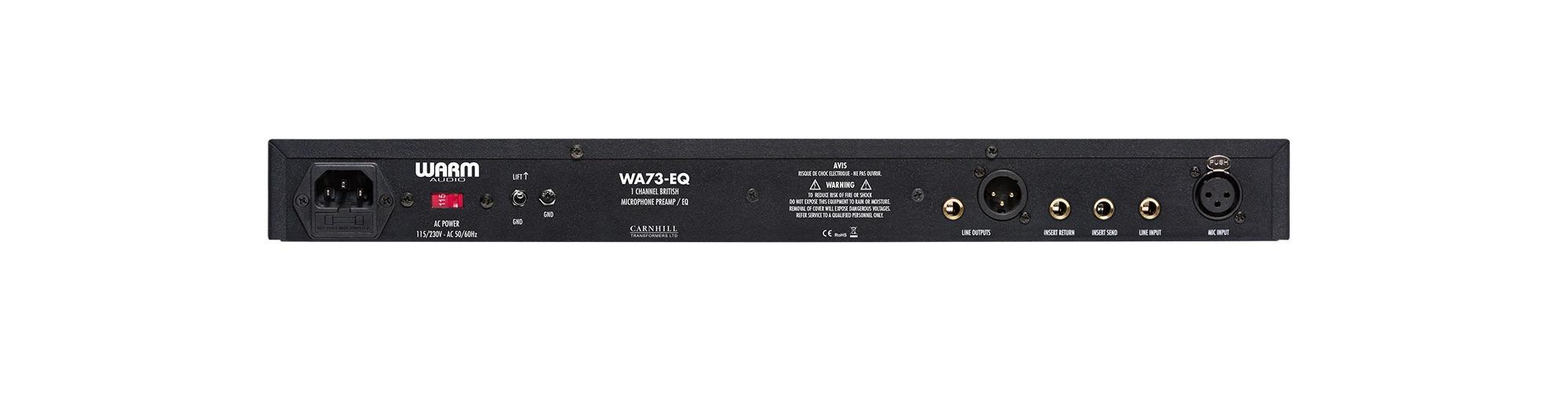 WA73-EQ British Style Microphone Preamp Plus EQ | Warm Audio