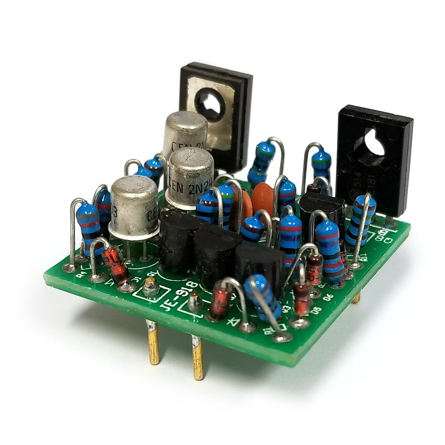 X18 Discrete Opamp Warm Audio The Operational Amplifier Amplifiers Electronics