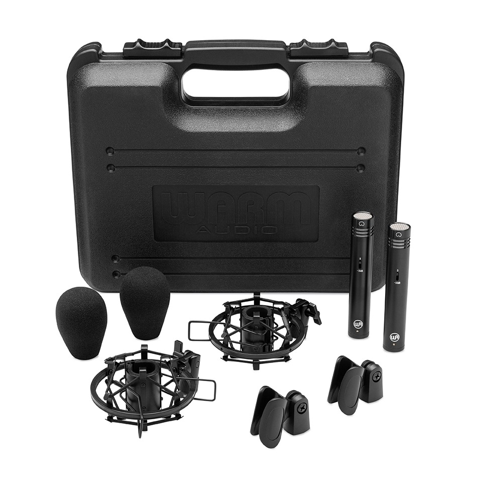 WA-84 Stereo Pair Black Case