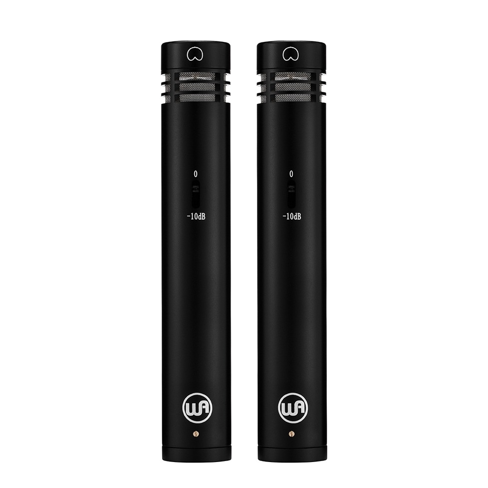 WA-84 Stereo Pair Black Front View
