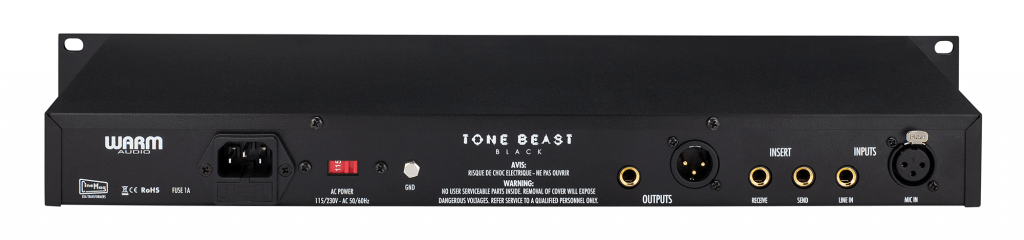 New Product Announcement: TB12 Tone Beast Black | Warm Audio